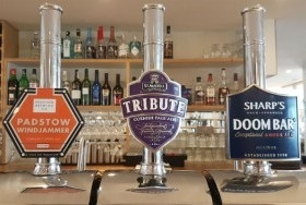 Cornish Ales on draught
