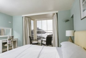 Sea view rooms in Marazion Cornwall