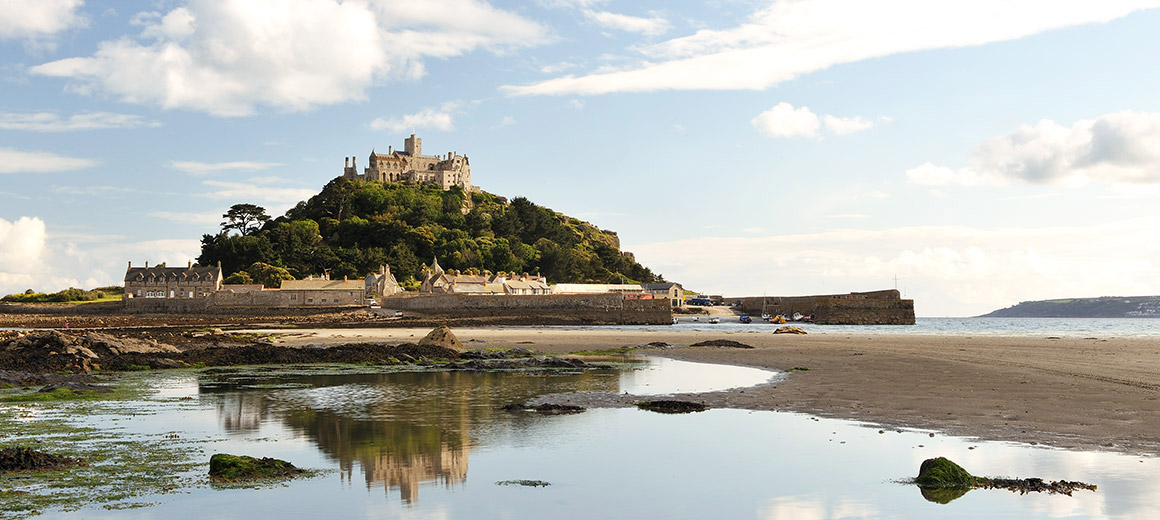 Reflections of St Michael's Mount